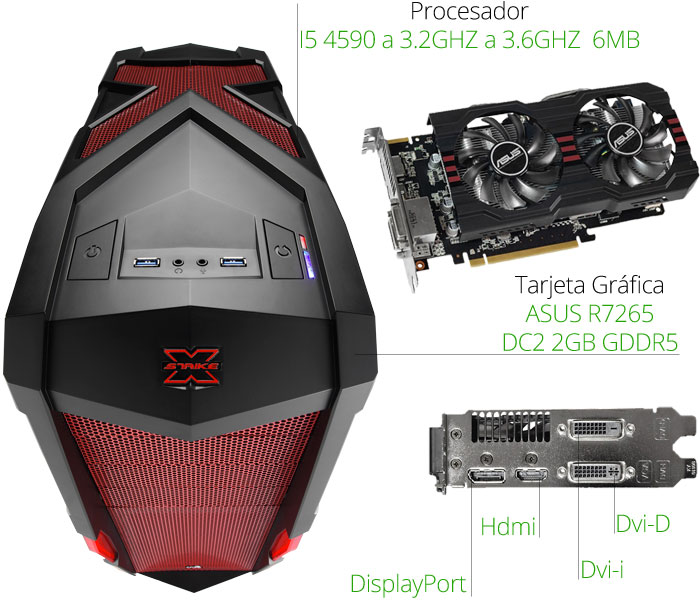 microprocesador gaming g-moon serie 3